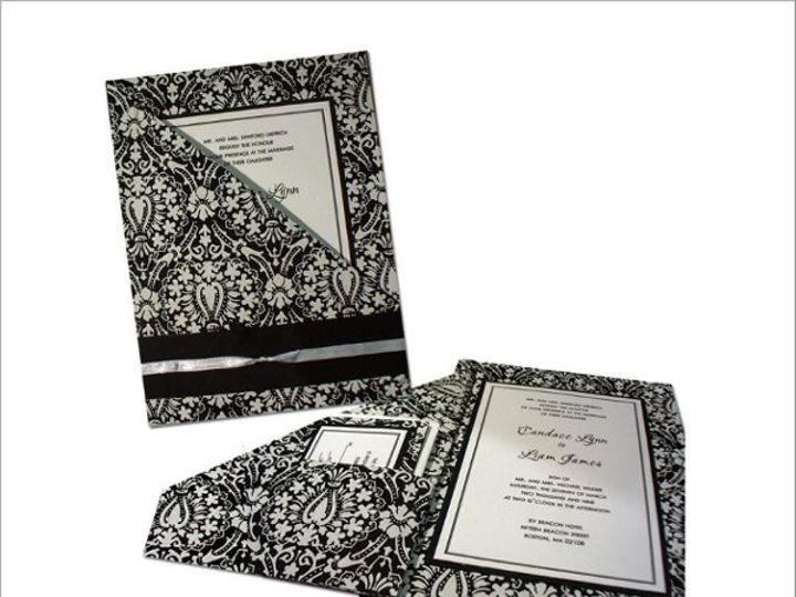 Tmx 1245778266015 UltimateBlackTieAffair Hamden wedding invitation