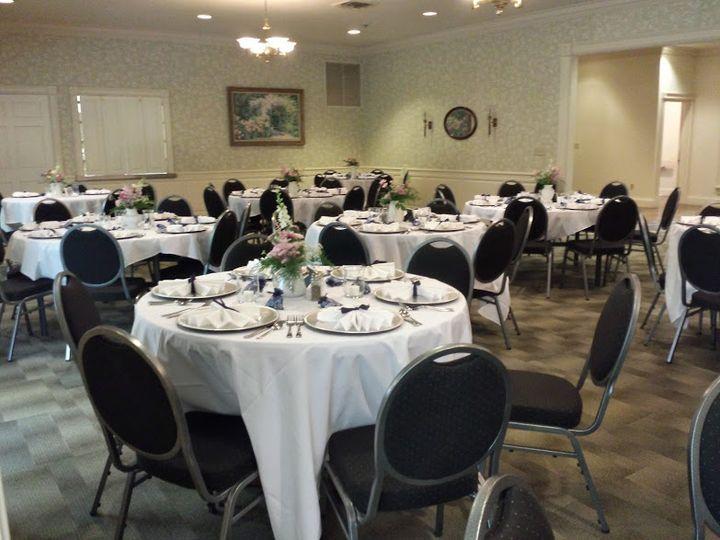 Upper dining set up