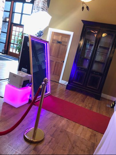 Red carpet + stanchions