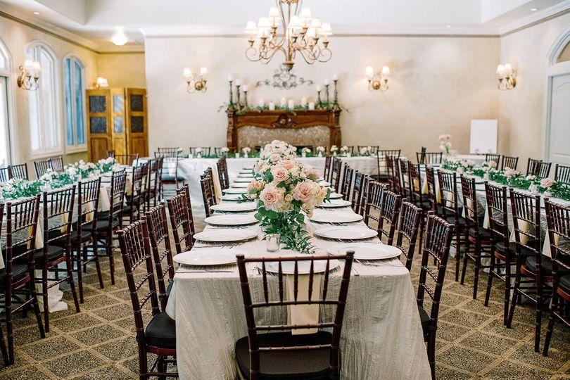 Reception in Dining Room