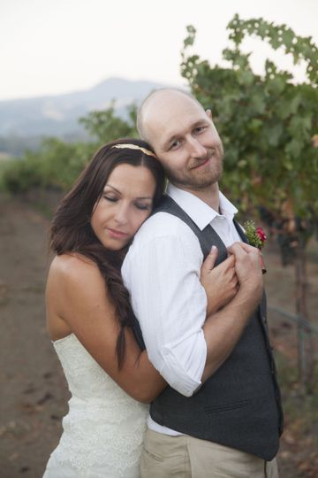 Beautiful wedding in Geyserville, CA