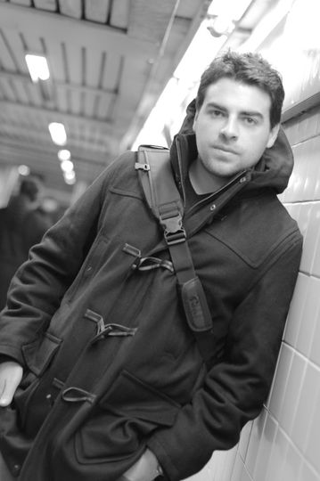 Meet Keith! Hanging in the subway station NYC!