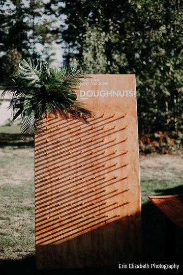 Doughnut board.