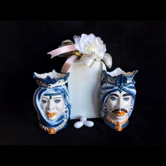 Dark Brown Ceramic Caltagirone