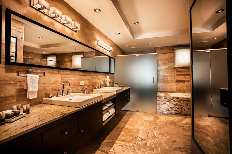 Master spa bathroom