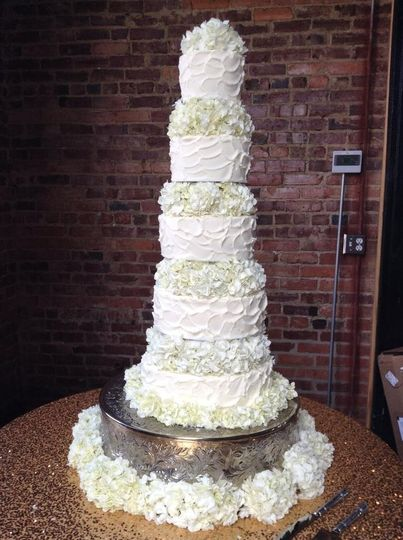 Kimmees Cakes Wedding Cake Chattanooga Tn Weddingwire