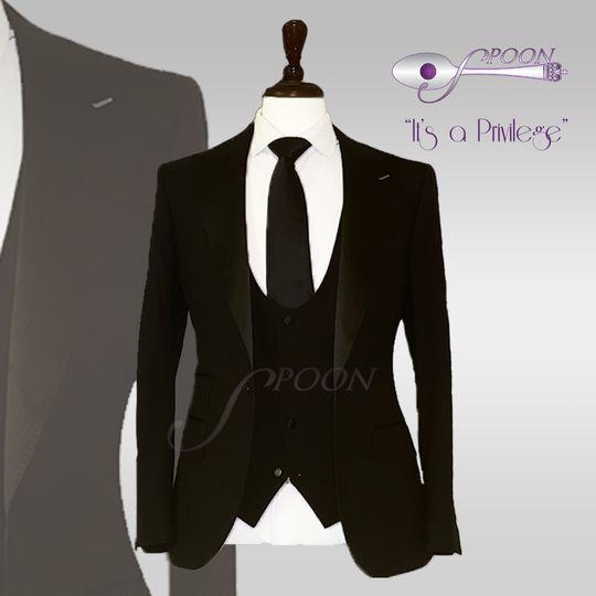 Classic groom tux
