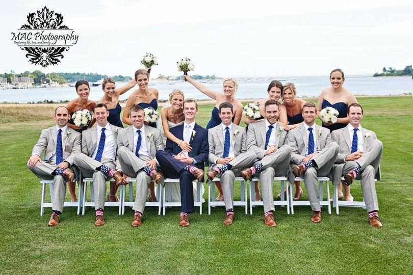 dave and court bridal party