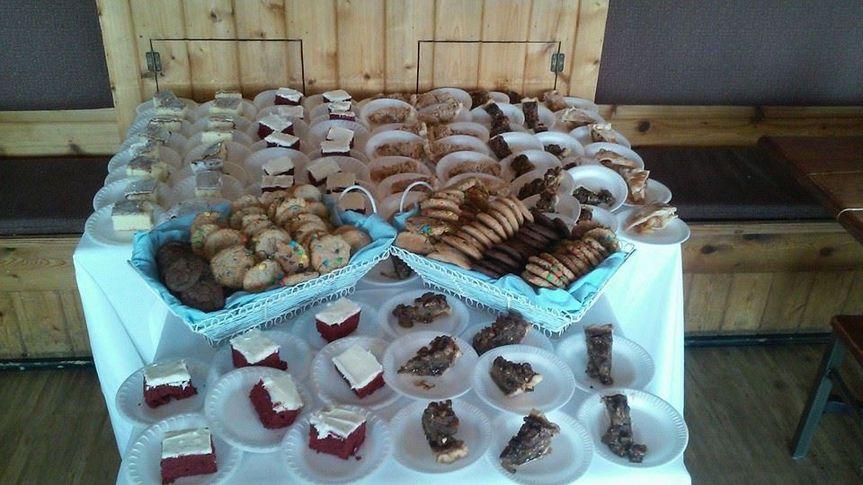 Cookies & Milk or pre-cut cake