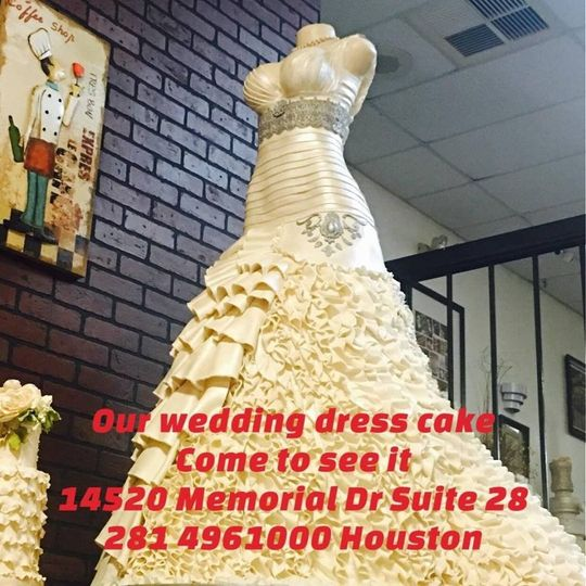 Supreme Kakes - Wedding Cake - Houston, TX - WeddingWire