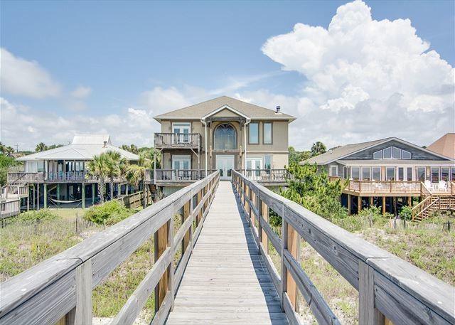 The All Occasion House is an oceanfront event home. It has four bedrooms and can host events for up...