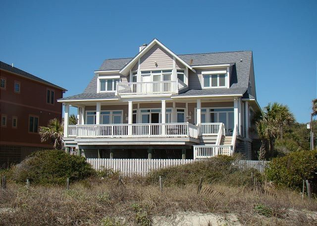 Sunrise, Sunset is oceanfront on Folly Beach! It has three bedrooms and can host events for up to 65...
