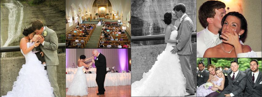wedding two collage