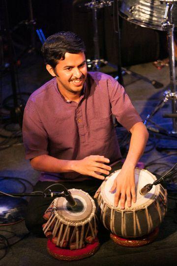 Tanmay Bichu: tabla drums