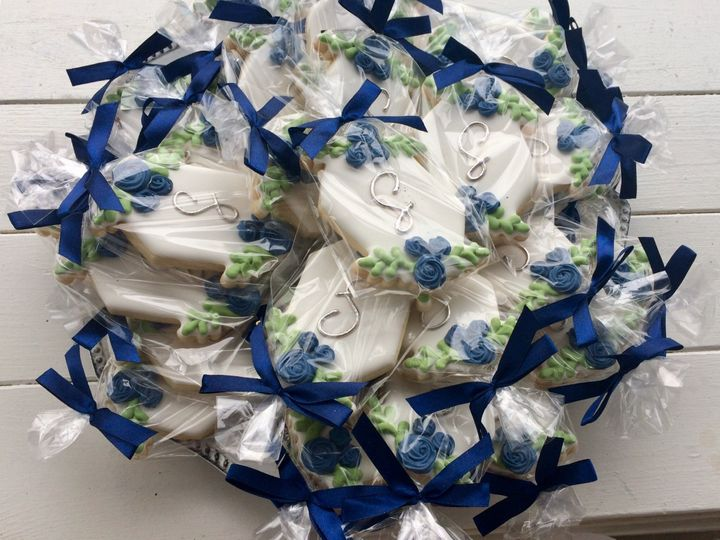 Packaged favors at reception
