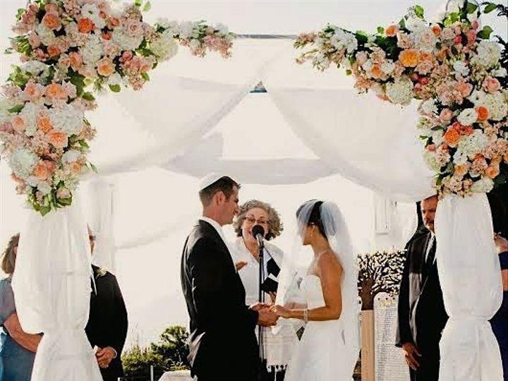 Tmx 1414093690211 Tracy And Matt Chuppah Atascadero, CA wedding officiant
