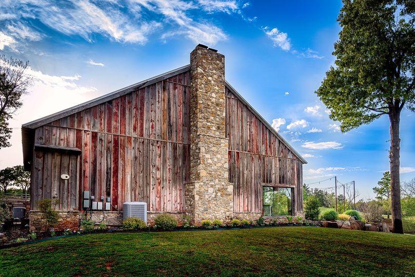 Barn facade
