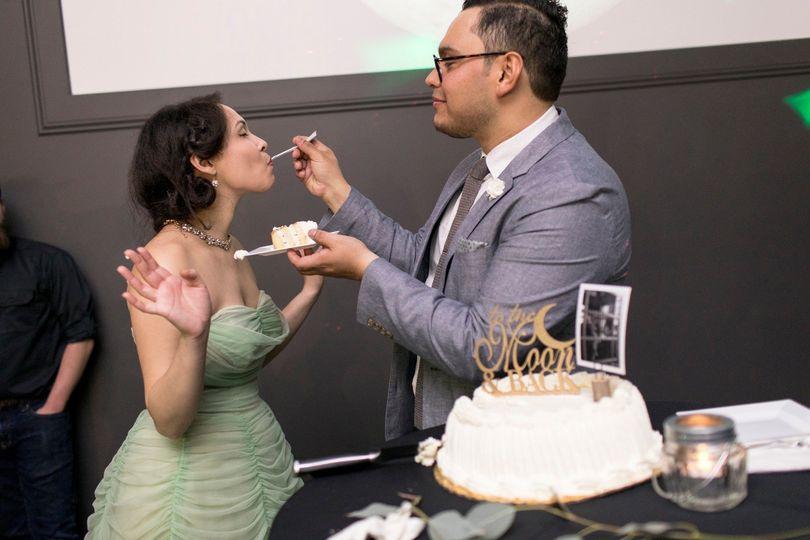 Tasting the cake - ©Zachary Hartzell