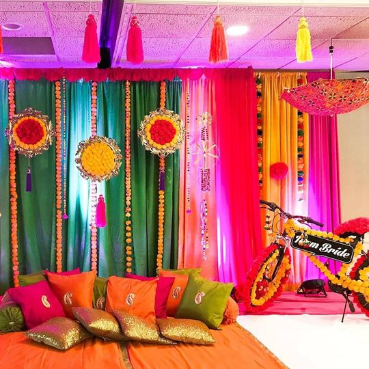 Sangeet stage decor