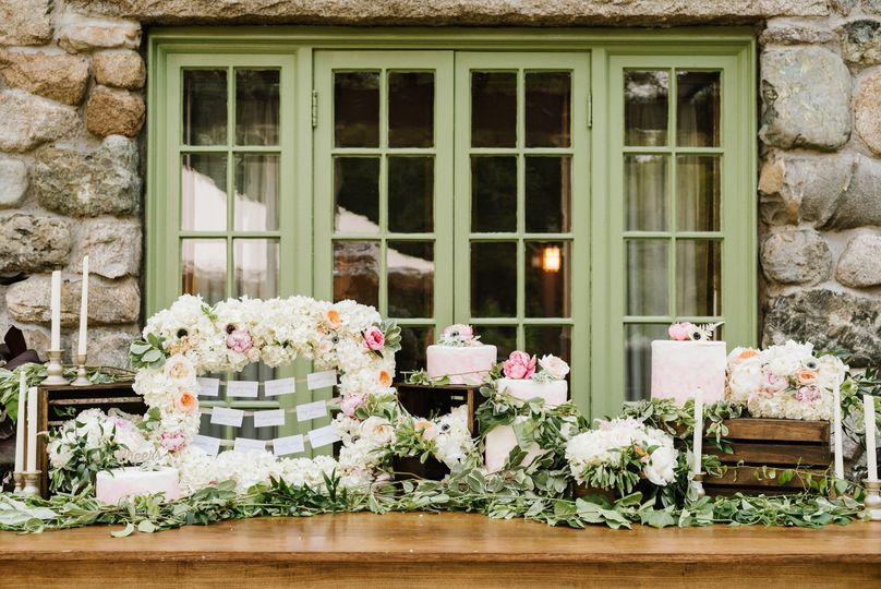 blush metallic styled shoot willowdale estate 206