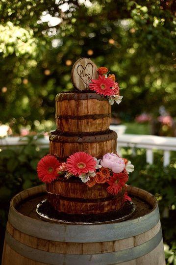 Barrel inspired cake