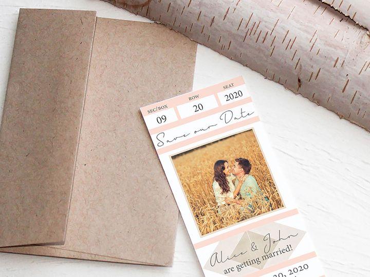 Tmx 1448411581570 Three Temecula wedding invitation