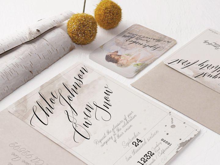 Tmx 1448418383093 2016 One Temecula wedding invitation