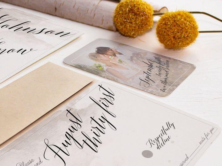 Tmx 1448418429224 2016 Three Temecula wedding invitation