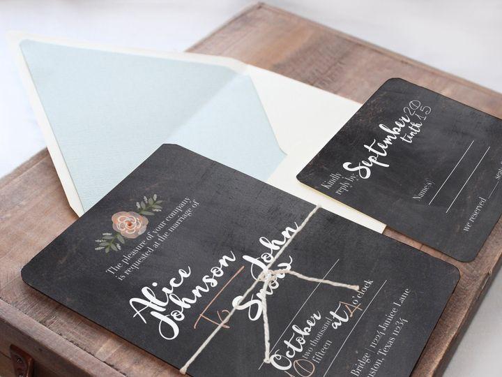 Tmx 1448418851925 Chalk Temecula wedding invitation