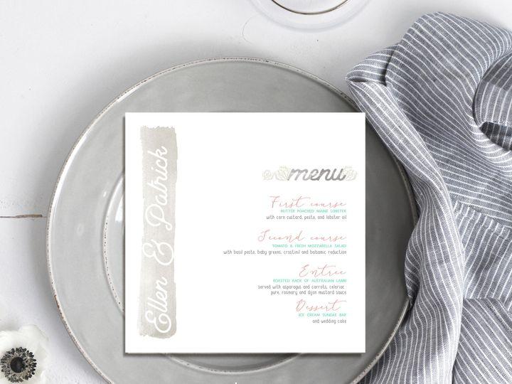 Tmx 1468249711821 New Menu Logo Temecula wedding invitation