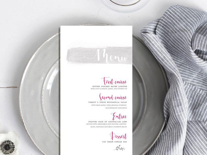 Tmx 1468249720910 New Menu 2 Temecula wedding invitation