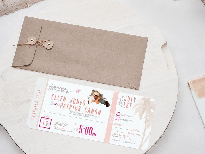 Tmx 1468249771982 Photo 2 Temecula wedding invitation