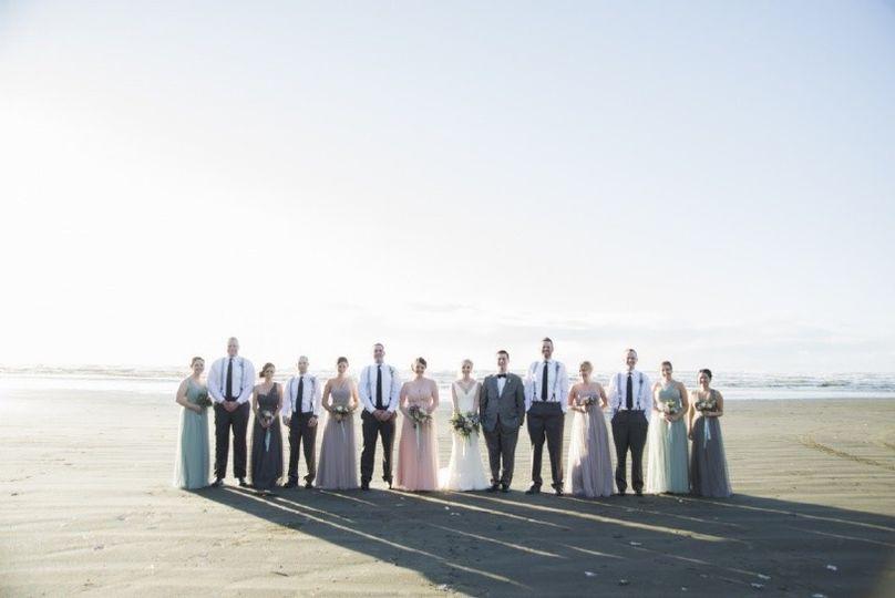 Wedding attendants