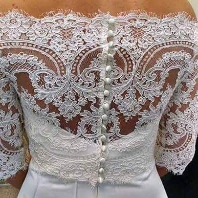 Tmx 1487275547924 Costum Jacket Greenwood, Indiana wedding dress