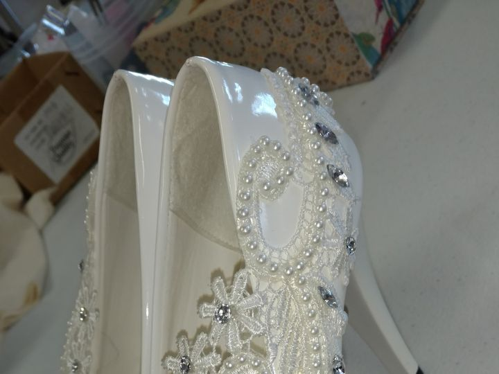 Tmx 1487275903979 Shoes2 Greenwood, Indiana wedding dress