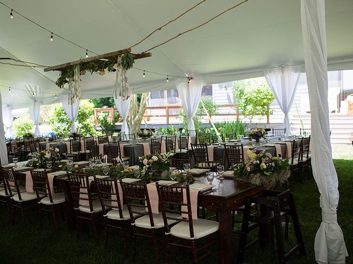 Tmx 1503935717751 Hangingladderinsidepoletentjune2017 Chestertown, Maryland wedding rental