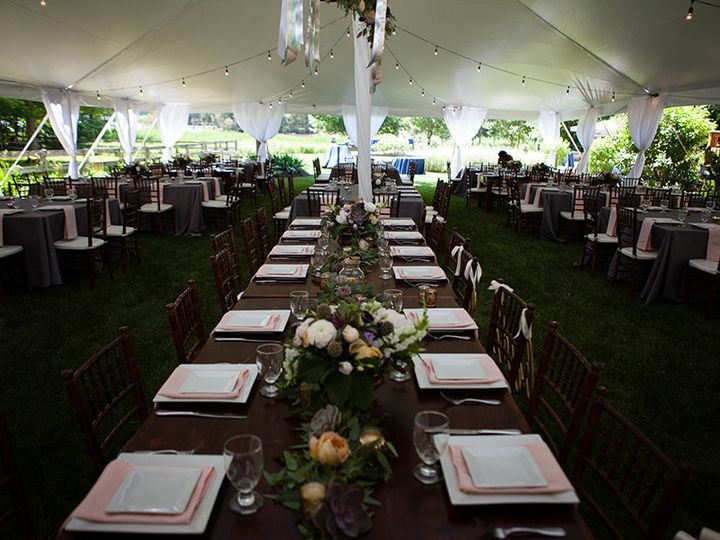 Tmx 1503935733149 Vandemarkweddinginsidetent01 Chestertown, Maryland wedding rental