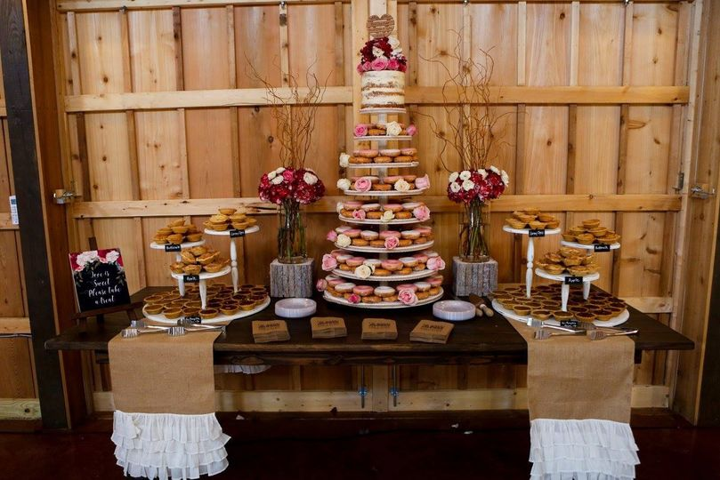 The cupcake table