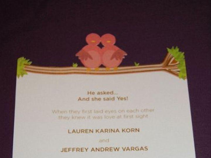 Tmx 1298643899128 DSC0013 Levittown wedding invitation