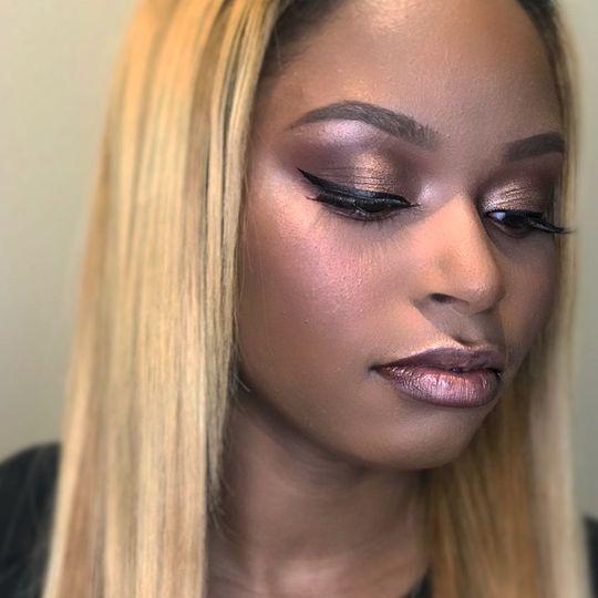 Perfect makeup blending