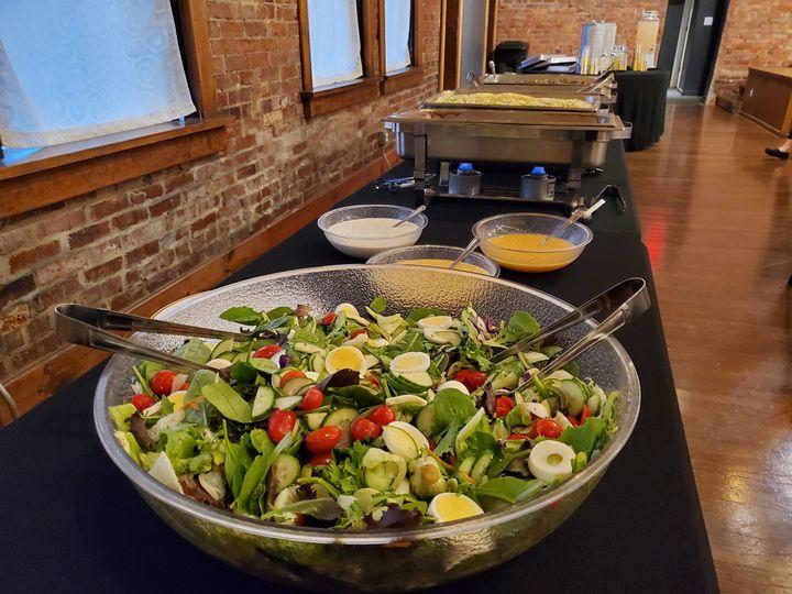 Loaded veggie salad