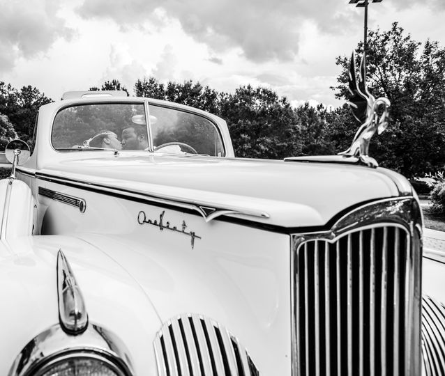 ~ Vintage Style  When you arrive to the venue in a 'classic'!  The entire Wedding party came to take...