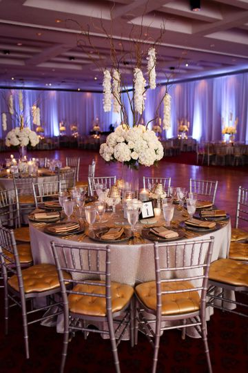 Flowers courtesy of Raos Mattydale Flowers, Syracuse, NY and decor by Hank Parker Rentals | Photos...