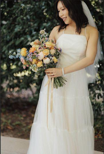 Lovely Wildflower Bride