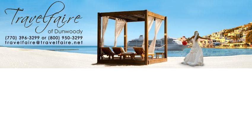 Let Travelfaire plan your destination wedding or honeymoon for you!