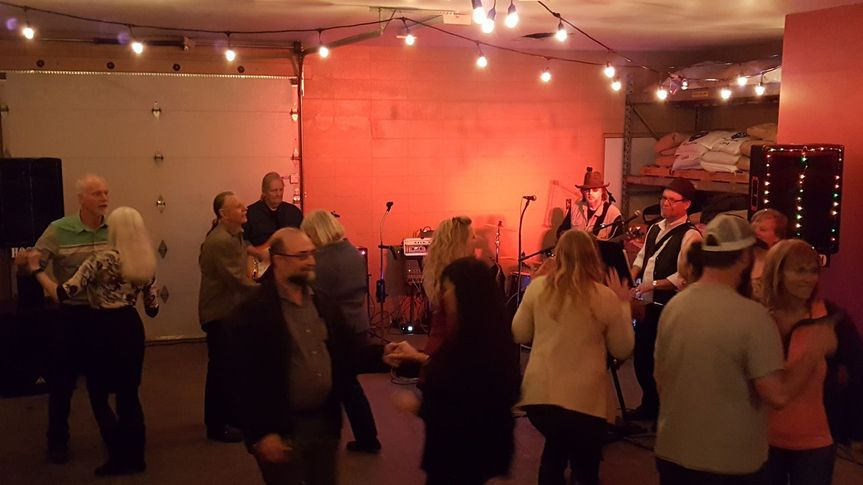 Another of my artists performing at a brewery event in the brewing room of a local brewery. They...