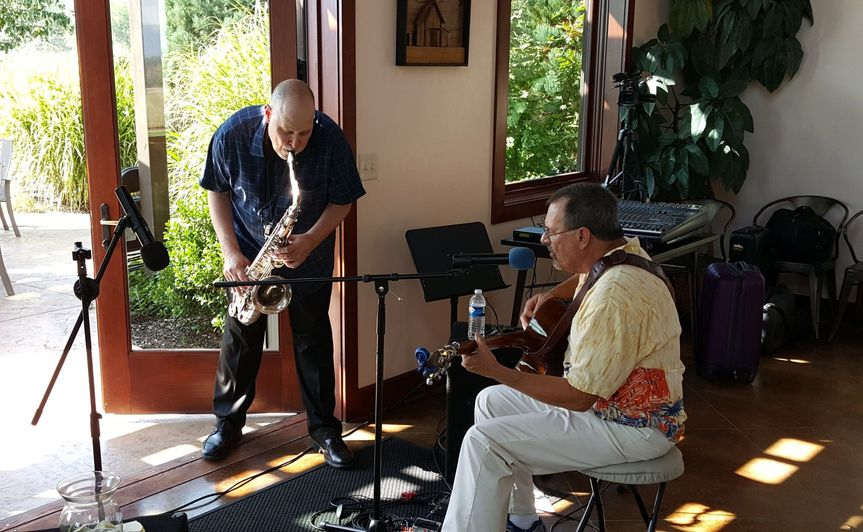 Another of my entertainers performing at a winery event in the tasting room of a local winery They...