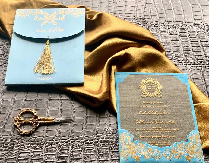 Blue prestige style