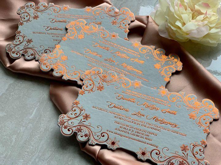 Tmx Dusty Rose 4 51 1940039 158268408097887 Slidell, LA wedding invitation