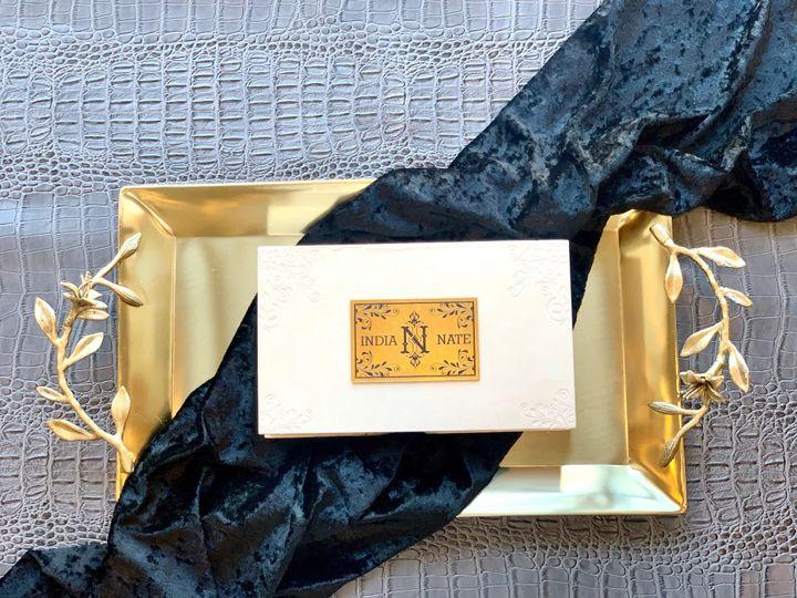 Tmx Suede Box 51 1940039 158268371137811 Slidell, LA wedding invitation